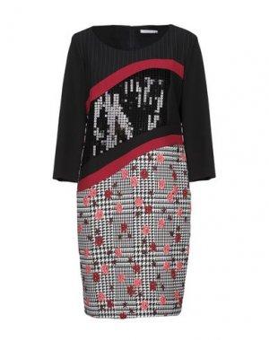 Короткое платье CANNELLA. Цвет: черный