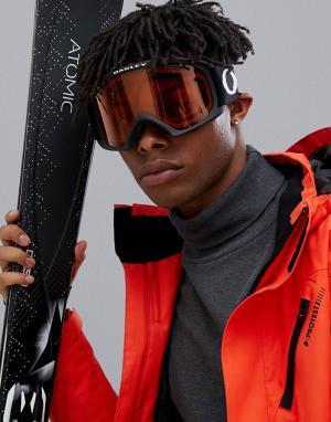 Большие защитные очки с черной оправой и ремешком O Frame 2.0 XL Oakley. Цвет: черный