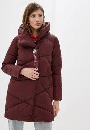 Куртка утепленная Moki. Цвет: бордовый