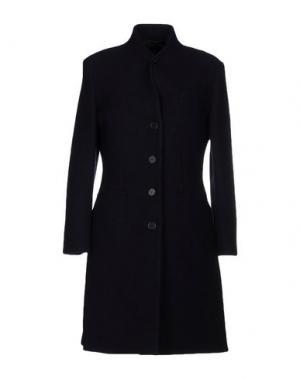 Пальто ADELE FADO. Цвет: темно-синий
