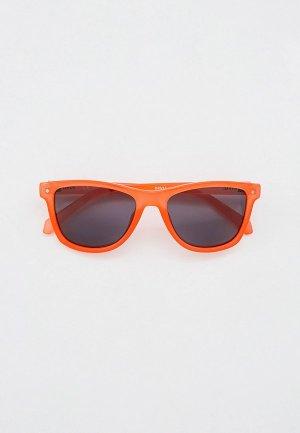 Очки солнцезащитные Invu с поляризационными линзами. Цвет: оранжевый