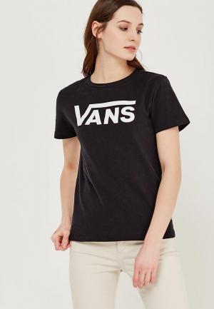 Футболка Vans. Цвет: черный