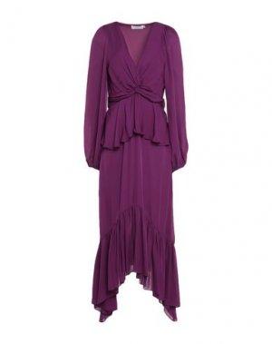 Платье длиной 3/4 A.L.C.. Цвет: фиолетовый