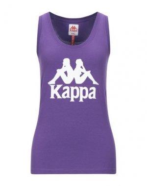 Майка KAPPA. Цвет: фиолетовый