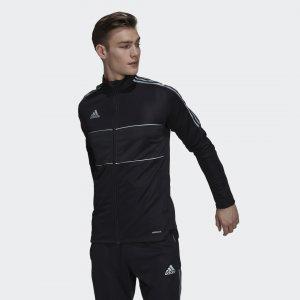 Олимпийка Tiro Reflective Performance adidas. Цвет: черный