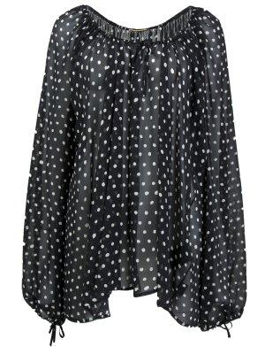 Шелковая блуза YSL