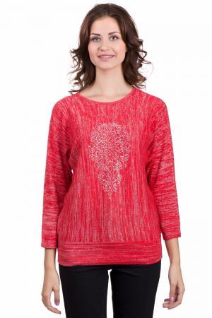 Пуловер Lebek. Цвет: серебристый