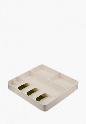 Подставка для кухонных инструментов Joseph DrawerStore. Цвет: белый
