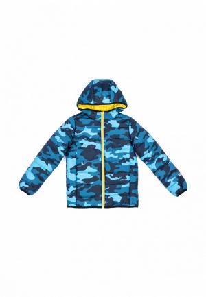 Куртка утепленная PlayToday. Цвет: синий