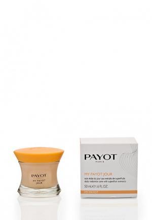 Крем для лица Payot улучшения цвета с активными растительными экстрактами 50 мл. Цвет: белый