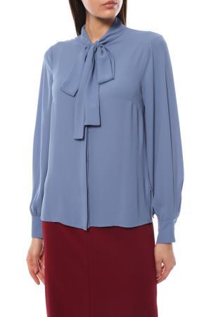Блузка Disetta. Цвет: голубой