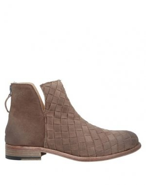 Полусапоги и высокие ботинки ERNESTO DOLANI. Цвет: голубиный серый