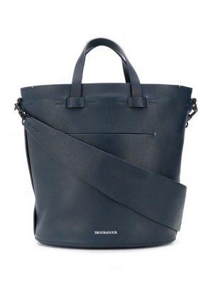 Овальная сумка Contour Troubadour. Цвет: синий