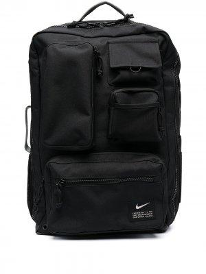 Спортивный рюкзак Utility Elite Nike. Цвет: черный