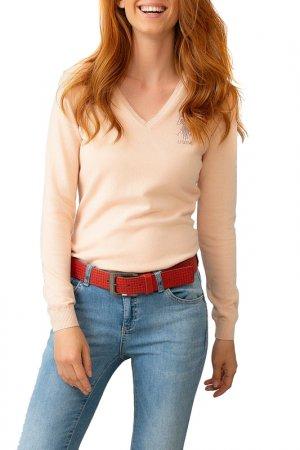 Пуловер U.S. Polo Assn.. Цвет: vr042 персиковый