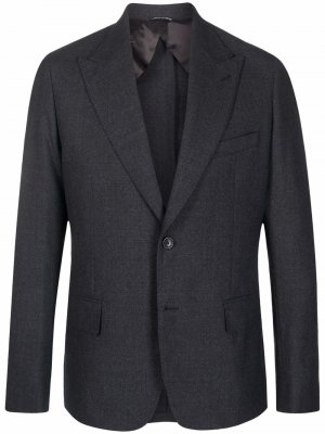 Однотонный пиджак Reveres 1949. Цвет: серый