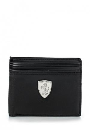 Кошелек Puma Ferrari LS Wallet M black. Цвет: черный