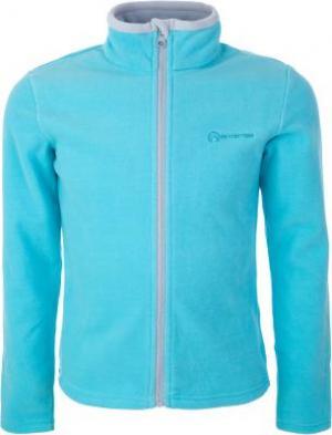 Джемпер флисовый для девочек , размер 116 Outventure. Цвет: голубой