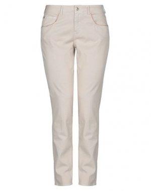 Джинсовые брюки ALVIERO MARTINI 1a CLASSE. Цвет: бежевый