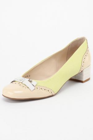 Туфли Loucos & Santos. Цвет: зеленый