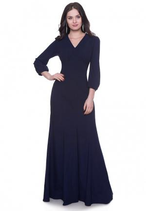 Платье Grey Cat VIKY. Цвет: синий