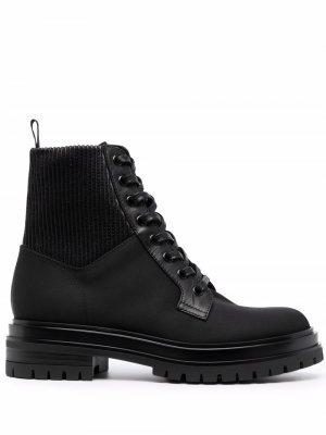 Ботинки на шнуровке Gianvito Rossi. Цвет: черный