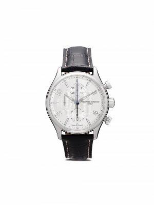 Наручные часы Runabout RHS Chronograph Automatic 42 мм Frédérique Constant. Цвет: серебристый