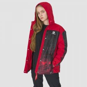 Padded Jacket Converse. Цвет: красный