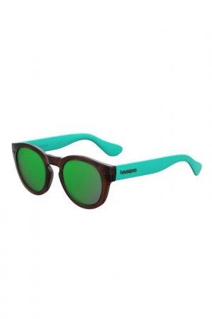 Солнцезащитные очки Havaianas. Цвет: коричневый