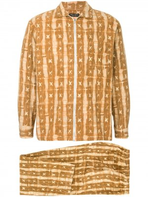 Костюм-пимажа на молнии Comme Des Garçons Pre-Owned. Цвет: коричневый