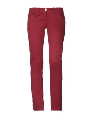 Повседневные брюки ANNARITA N. Цвет: кирпично-красный