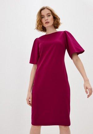 Платье Forus. Цвет: бордовый