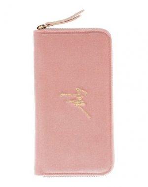 Бумажник GIUSEPPE ZANOTTI. Цвет: розовый