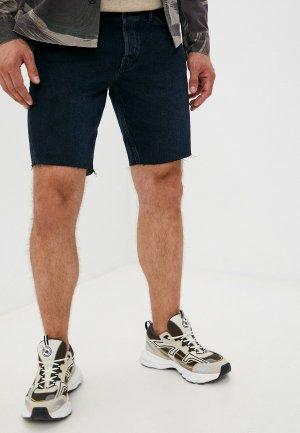 Шорты джинсовые AllSaints. Цвет: синий