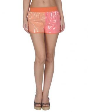 Пляжные брюки и шорты PATRIZIA PEPE. Цвет: оранжевый