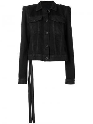 Джинсовая куртка со структурированными плечами Unravel Project