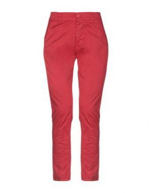Повседневные брюки BEVERLY HILLS POLO CLUB. Цвет: красный