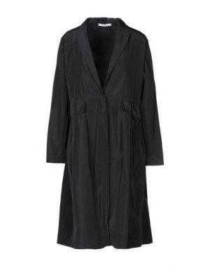 Легкое пальто LABORATORIO. Цвет: черный