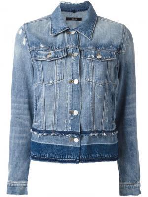 Джинсовая куртка Deena J Brand. Цвет: синий