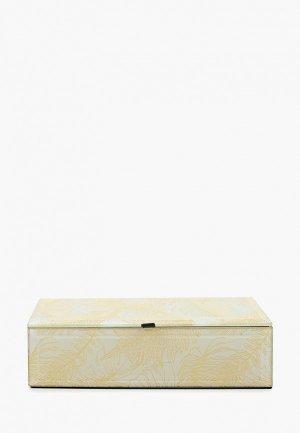 Шкатулка декоративная Русские подарки. Цвет: белый