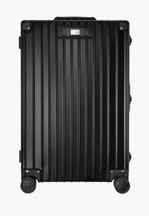 Чемодан Proffi travel Luxury, М. Цвет: черный