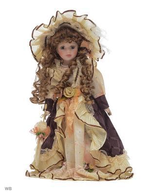 Кукла фарфор 16  Паола Angel Collection. Цвет: сиреневый, белый