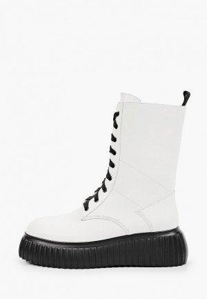 Ботинки Basconi. Цвет: белый