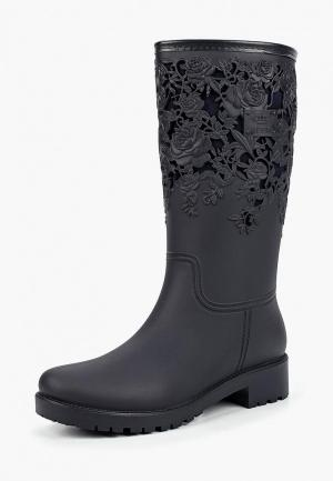 f64f1038b782b Серые женские резиновые сапоги купить в интернет-магазине LikeWear.ru