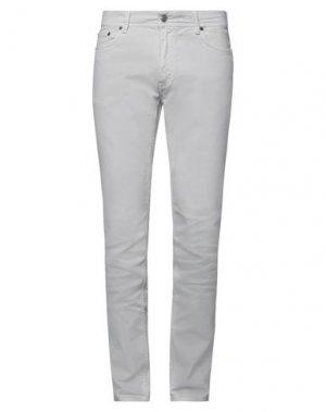 Джинсовые брюки ACNE STUDIOS BLÅ KONST. Цвет: светло-серый