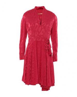 Короткое платье BABYLON. Цвет: красный