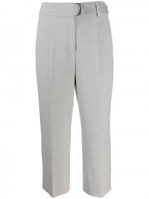 Укороченные брюки со складками Akris Punto
