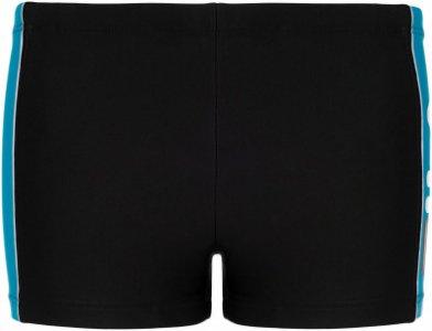 Плавки-шорты для мальчиков , размер 128 Fila. Цвет: черный