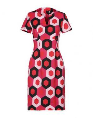 Короткое платье 1-ONE. Цвет: светло-фиолетовый