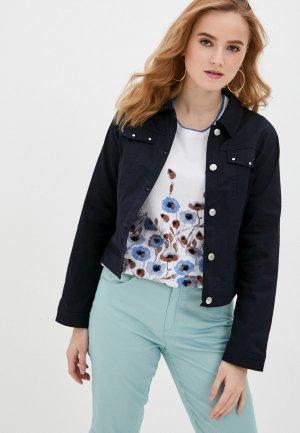 Куртка джинсовая Micha. Цвет: синий